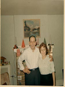 This is a picture of Aunt Carmella and Uncle Paul