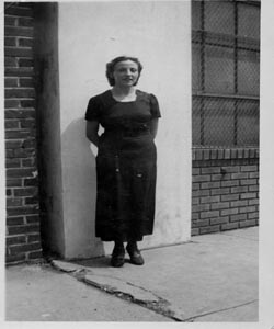 This is a picture of Mom around 1938
